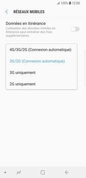 Samsung Galaxy S9 - Réseau - Changer mode réseau - Étape 7