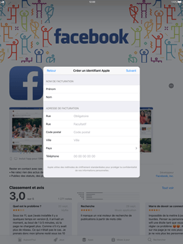 Apple Apple iPad Pro 12.9 - iOS 11 - Applications - Télécharger des applications - Étape 15