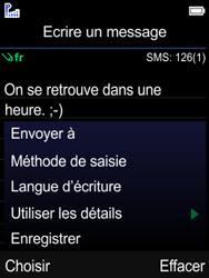 Mobiwire Leyti - Contact, Appels, SMS/MMS - Envoyer un SMS - Étape 8
