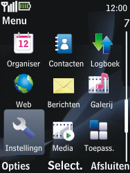 Nokia 2730 classic - MMS - handmatig instellen - Stap 3