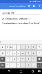 Sony Xperia XZ Premium - E-mails - Envoyer un e-mail - Étape 10