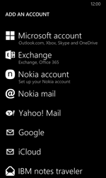 Nokia Lumia 635 - Email - Manual configuration - Step 6