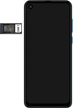 Motorola One Vision - Primeiros passos - Como inserir o chip da Nextel no seu celular - Etapa 4