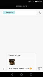 Huawei P8 - Mensajería - Escribir y enviar un mensaje multimedia - Paso 18