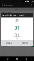HTC One M8 - Internet - Ver uso de datos - Paso 7
