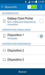 Samsung Galaxy Core Prime - Bluetooth - Conectar dispositivos a través de Bluetooth - Paso 8