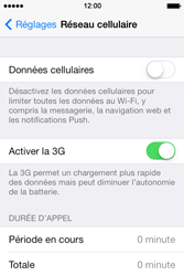 Apple iPhone 4 S iOS 7 - Internet - Configuration manuelle - Étape 4