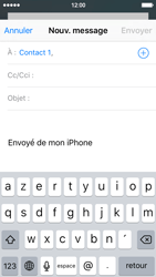 Apple iPhone SE - E-mails - Envoyer un e-mail - Étape 6