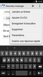 Acer Liquid Z410 - E-mail - Envoi d