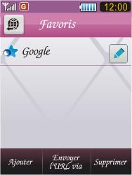 Samsung S7070 Diva - Internet - Navigation sur Internet - Étape 9