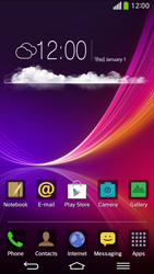 LG G Flex D955 - Internet - Manual configuration - Step 1
