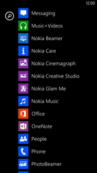 Nokia Lumia 1320 - Voicemail - Manual configuration - Step 3