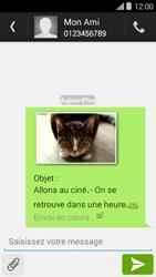 Bouygues Telecom Ultym 5 II - Contact, Appels, SMS/MMS - Envoyer un MMS - Étape 19