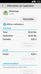 Bouygues Telecom Ultym 5 - Applications - Supprimer une application - Étape 6