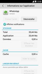 Bouygues Telecom Ultym 5 - Applications - Supprimer une application - Étape 6