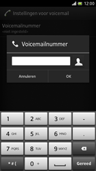 Sony LT28h Xperia ion - Voicemail - Handmatig instellen - Stap 7