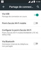 Wiko Rainbow Lite 4G - Internet et connexion - Utiliser le mode modem par USB - Étape 8