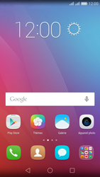 Huawei Honor 5X - E-mail - Configuration manuelle (gmail) - Étape 2
