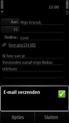 Nokia 500 - E-mail - e-mail versturen - Stap 12