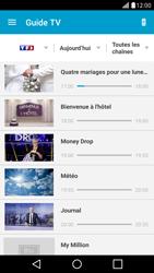 Sony Xpéria Z1 - Photos, vidéos, musique - Regarder la TV - Étape 5