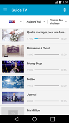 Sony Xperia XZ1 - Photos, vidéos, musique - Regarder la TV - Étape 5