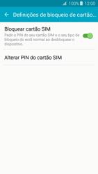 Samsung Galaxy J3 (2016) - Segurança - Como ativar o código PIN do cartão de telemóvel -  9