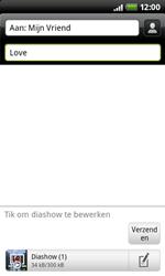 HTC A7272 Desire Z - MMS - hoe te versturen - Stap 11