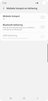 Samsung Galaxy S10 - Internet - mijn data verbinding delen - Stap 6
