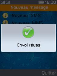 Archos F28 - Contact, Appels, SMS/MMS - Envoyer un SMS - Étape 12