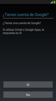 Samsung Galaxy Note 3 - Primeros pasos - Activar el equipo - Paso 9
