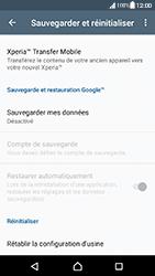 Sony Xperia XA (F3111) - Android Nougat - Appareil - Réinitialisation de la configuration d