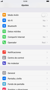 Apple iPhone 8 Plus - Internet - Activar o desactivar la conexión de datos - Paso 3