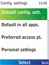 Nokia X2-00 - Internet - Automatic configuration - Step 8