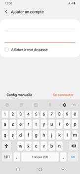 Samsung Galaxy A50 - E-mail - Configurer l