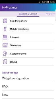 Samsung Galaxy S6 edge+ - Applications - MyProximus - Step 23
