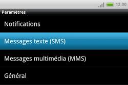 HTC A810e ChaCha - SMS - Configuration manuelle - Étape 5