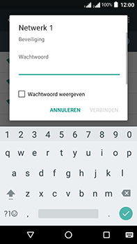 Acer Liquid Zest 4G Plus DualSim - Wi-Fi - Verbinding maken met Wi-Fi - Stap 7