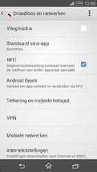 Sony Xperia T3 - Internet - Aan- of uitzetten - Stap 5