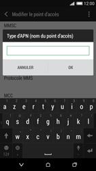 HTC Desire 620 - MMS - Configuration manuelle - Étape 13