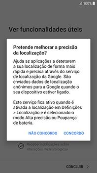 Samsung Galaxy S7 Edge - Android Oreo - Primeiros passos - Como ligar o telemóvel pela primeira vez -  20