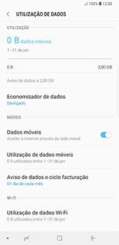 Samsung Galaxy Note 8 - Android Oreo - Internet no telemóvel - Como ativar os dados móveis -  7