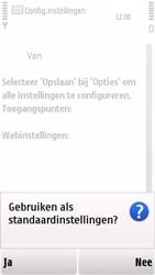 Nokia 5230 - Internet - automatisch instellen - Stap 5