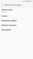 Samsung Galaxy J5 (2016) - Mensajería - Configurar el equipo para mensajes de texto - Paso 6