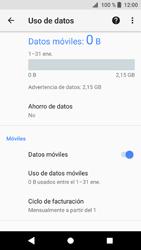 Sony Xperia XZ1 - Internet - Ver uso de datos - Paso 6
