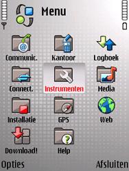 Nokia E66 - Internet - Handmatig instellen - Stap 3