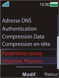 Sony Ericsson W595 - Internet - Configuration manuelle - Étape 13