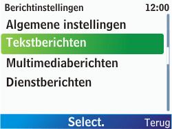 Nokia C3-00 - SMS - Handmatig instellen - Stap 6