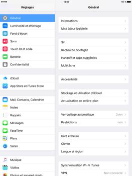 Apple iPad mini 4 - E-mail - Configuration manuelle - Étape 3