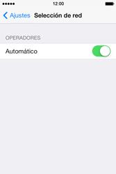 Apple iPhone 4S iOS 7 - Red - Seleccionar una red - Paso 4