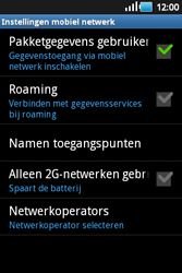 Samsung S5660 Galaxy Gio - Mms - Handmatig instellen - Stap 6